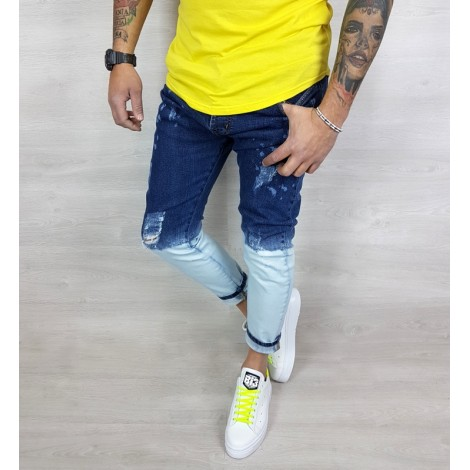 UOMO T-SHIRT stampa WANTED TATTOO BIKERS  Jeans MANICA CORTA  ITALY S,M,L,XL 058